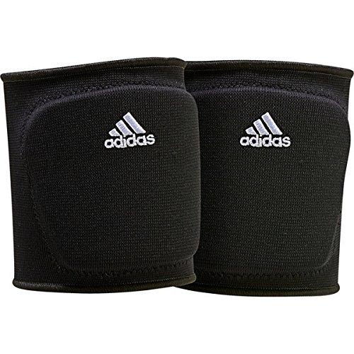 adidas S1748VB100 5-Inch Knee Pad, Black/White, Medium