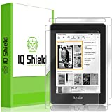IQShield Amazon Kindle Paperwhite Screen Protector, LiQuidSkin Full Body Skin + Full Coverage Screen Protector for Amazon Kindle Paperwhite (2018, 6') HD Clear Anti-Bubble Film