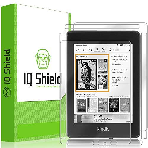 IQShield Amazon Kindle Paperwhite Screen Protector, LiQuidSkin Full Body Skin + Full Coverage Screen Protector for Amazon Kindle Paperwhite (2018, 6
