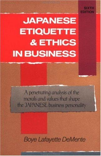 Japanese Etiquette & Ethics In Business