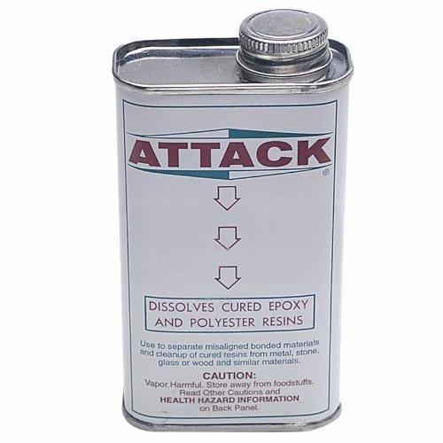 Attack Epoxy Resin Glue Remover