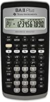 Texas Instruments- Calculadora TI-BAIIPLUS