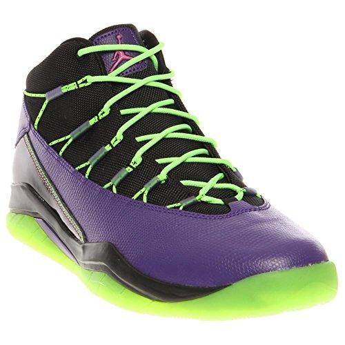 Nike Jordan Prime Flight Men's Basketball Shoes (13, Black/Club Pink/Court Purple/Flash Lime) (Nike Jordan Shoes Men Flight Club)