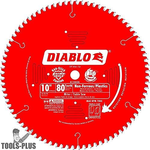 (Diablo D1080N Non-Ferrous Metal & Plastic Cutting Saw Blade)