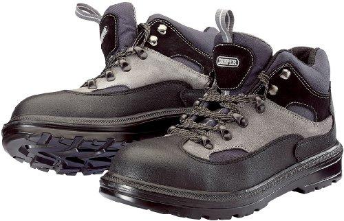 Draper - Calzado de protección para hombre negro negro 10 negro/gris
