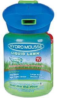 PATENTED GAVIN HYDROSEEDER UP TO 2# YOUR CHOICE GRASS SEED PLUS .5# SOLUBLE FERTILIZER FOR BARE SPOTS; NEW SEEDING OR THIN AREAS PLUS CONVERTS TO GARDEN FEEDER Hydro Products D-50 U.S