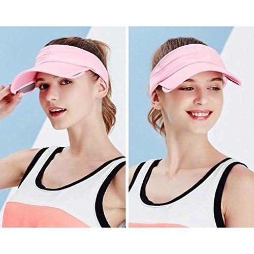 Vuoto Cappello Sport Berretto Tennis All'aperto Sole Da Top Qiqidedian Sunscreen Estivo Sunhat Con rrP6qZ