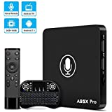 DBNICE Android TV Box, 2018 Latest A95X Pro Android Box, Android 7.1 TV Box 2GB RAM 16GB ROM with Android TV UI and Amazing Vocie Remote [With Backlit Mini Keyword]