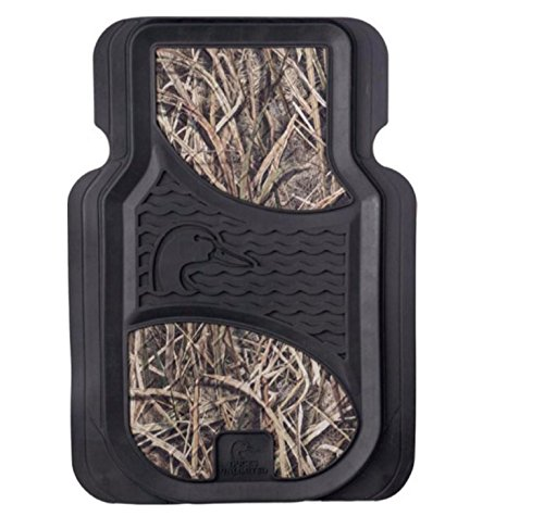 Ducks Unlimited Mossy Oak Blades Camo Floor Mats, Set of 2 (Camo Mat)