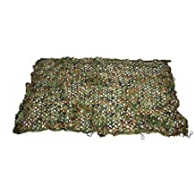 150D Oxford Green Woodland Camo Mesh Netting