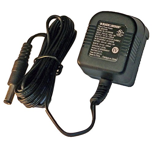 (Black and Decker GC1200 Drill Replacement 12V Charger # 90542490-01)