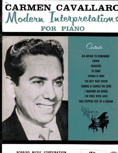 Carmen Cavallaro Modern Interpretations for Piano ()