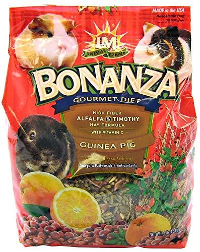 LM Animal Farms Bonanza Bounti-Buffet Guinea Pig Gourmet Food (4 lbs.)