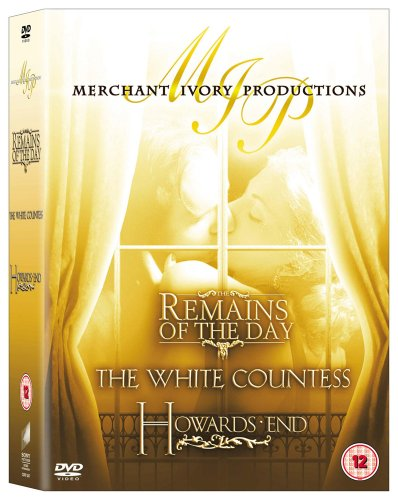 The Remains of the Day/the White Countess/Howards End