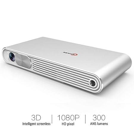 AXDNH Mini proyector portátil, proyector multifunción ...
