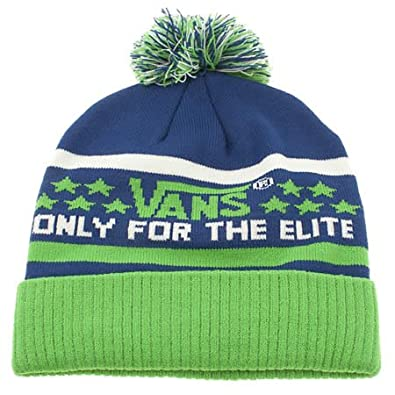0cbafb7a3c7 Vans Elite Beanie - One Size - Blue - Man Made  Amazon.co.uk  Shoes   Bags