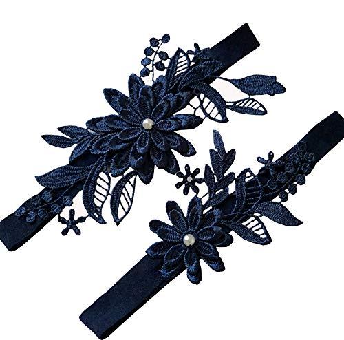 Oyabridal Wedding Garter Set Bridal Garter Set Lace Garter for Bride