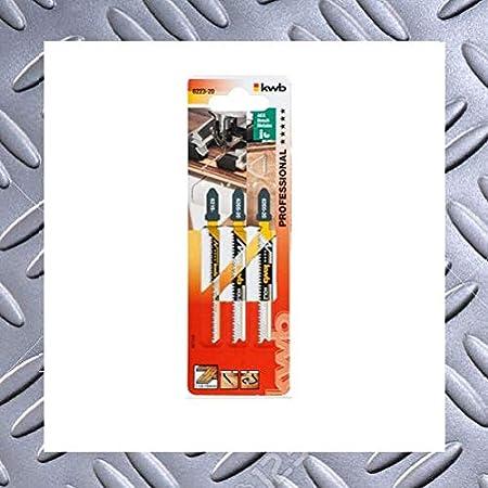 Silverline 228224 5 lames de scie sauteuse pour le bois