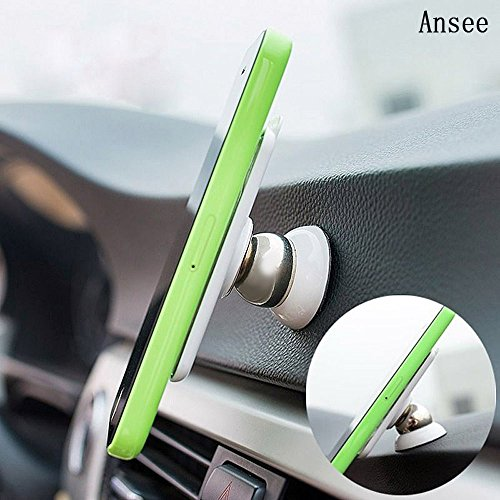 Universal 360 Degree Rotating Car Sticky Magnetic Stand Holder for iPhone - 2