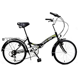 "Stowabike 20"" Folding City V2 Compact Foldable Bike – 6 Speed Shimano Gears from Stowabike"