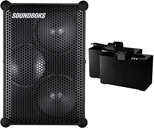 The New SOUNDBOKS – The Loudest Portable Bluetooth Performance Speaker (126 dB, Wireless, Bluetooth 5.0, Swappable Battery, 40Hr Average Playtime) (2BB)