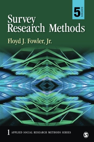 SURVEY RESEARCH METHODS,VOL.1