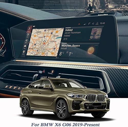 XHULIWQ GPSナビゲーション画面フィルムダッシュボード低/高、BMW X6 G06 2019 2020用