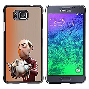 iKiki Tech / Estuche rígido - Mastermind Scientist Kids Children'S - Samsung GALAXY ALPHA G850