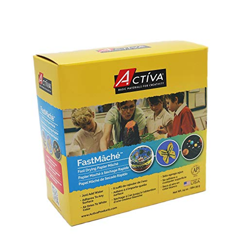 - ACTIVA Fast Mache Fast Drying Instant Papier Mache - 2 pounds