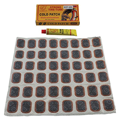 Fenix Bike Tire Inner Tube Puncture Rubber Patches Repair Kit (Large Patches)