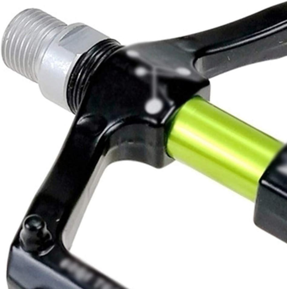 con rodamientos c/ómodos Pedal Plano de aleaci/ón de magnesio Pedales para Bicicleta de monta/ña