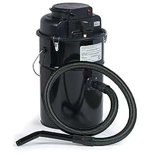 Dustless Technologies Cougar Ash Vacuum, Black, Made in USA