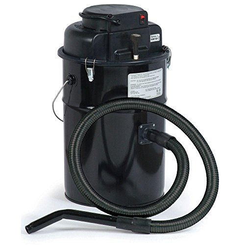Cougar Ash Vacuum, Black, Made in USA (Pellet Stove Vacuum Hose)