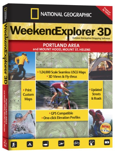 Weekend Explorer 3D - Portland Area & Mt. Hood, Mt. St. - Outlet Portland Shopping