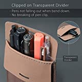 Pocket Protector, Leather Pen Pouch Holder