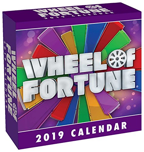 Continental Sales Tv - Wheel of Fortune 2019 Day-to-Day Calendar