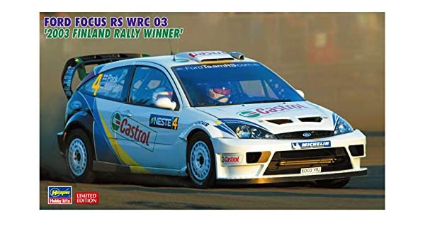 Amazon.com: 1/24 Ford Focus RS WRC 03