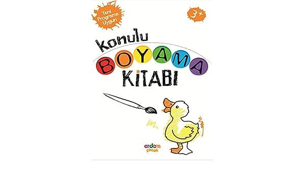 Konulu Boyama Kitabi 3 Yas Seda Candemir 9786053491552 Amazon