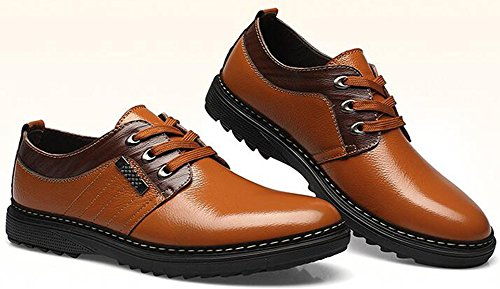 Top Mens Stain Business up Toe Lace Stylish Summerwhisper Low Shoes Khaki Oxfords ORwaK
