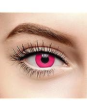 Chromaview i-Glow Gekleurde Contactlenzen Zonder Sterkte UV Roze (30 Dagen)