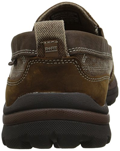 SKECHERS USA Superior Dimos Resbalón-en Mocasín Dark Brown