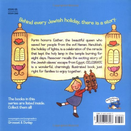 Celebrate: A Book of Jewish Holidays (Reading Railroad)