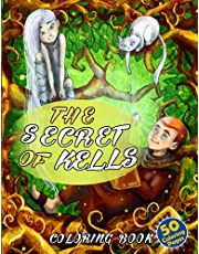 The Secret Of Kells Coloring Book: Nice Gifts To Relax And Relieve Stress for Kids