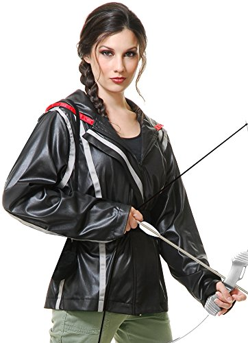 Archer Jacket Adult Costume - (Katniss Halloween Jacket)