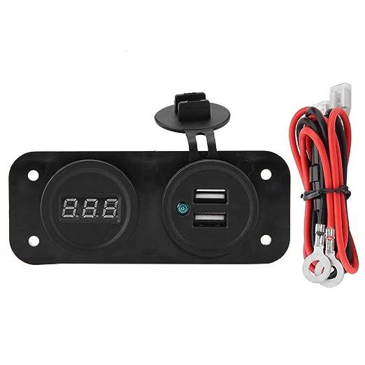1A/2.1A USB Enchufe del Cargador del Coche + 12V 24V ...