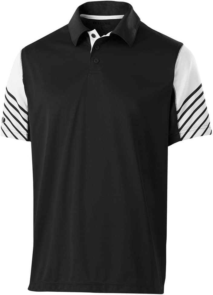 Holloway Dry Excel - Polo para Adulto, S, Negro/Blanco: Amazon.es ...