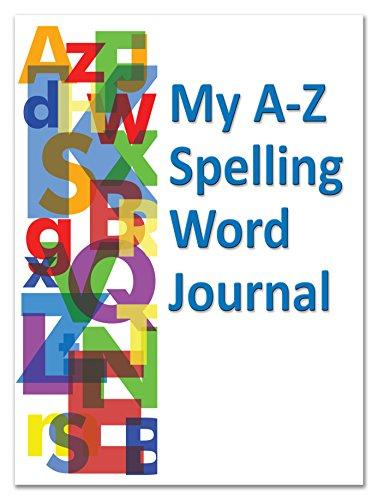 BookFactory Elementary School Spelling Journal/Classroom Spelling Journal Book - 10 Pack (8.5