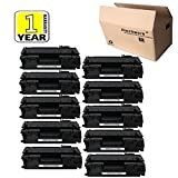 Compatible 80A CF280A Toner Cartridge 10 Pack Black for use in HP LaserJet Pro 400 M401dw, Pro 400 MFP M425dn, Pro 400 M401dne, Pro 400 M401n series printers, Etechwork Brand
