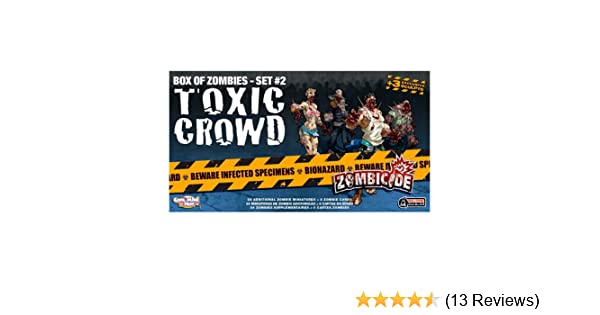 Zombicide: Toxic Crowd - Box of Zombies