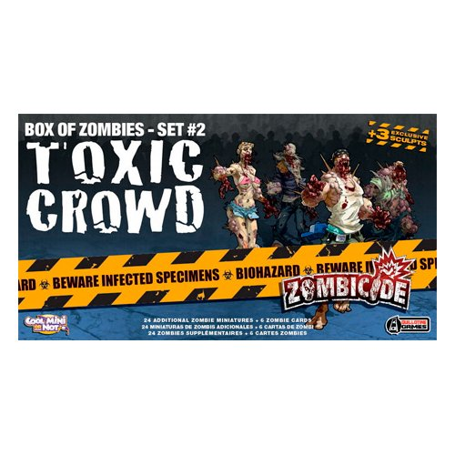 Guillotine Games 331536 - Zombicide - Box Of Zombies Set #2 - Toxic Crowd